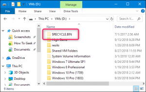 چگونه تنظیمات سطل زباله ویندوز را تغییر دهیم ؟