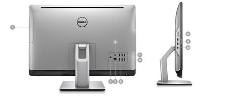 کامپیوتر رومیزی آل این وان دل مدل Dell All-In-One 5488