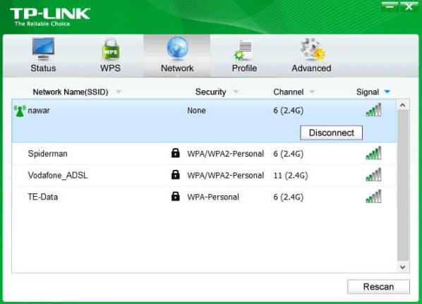 کارت شبکه وایرلس یو اس بی USB WiFi Adapter