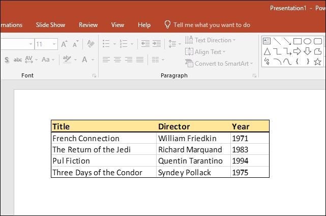 آموزش لینک کردن یا جاسازی یک صفحه اکسل در پاورپوینت