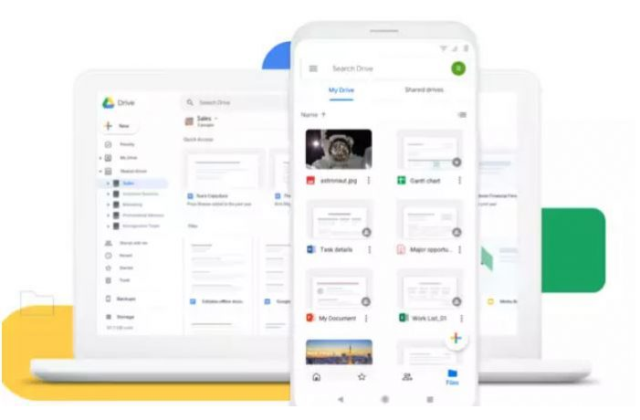 ریکاوری فایل Google Drive