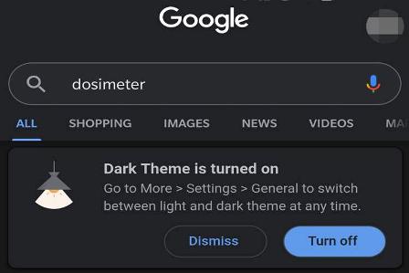 اضافه شدن حالت تاریک به گوگل| دسکتاپ گوگل| اضافه شدن حالت تاریک