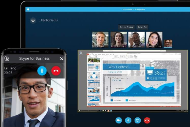 اشتراک گذاری صفحه نمایش در اسکایپ