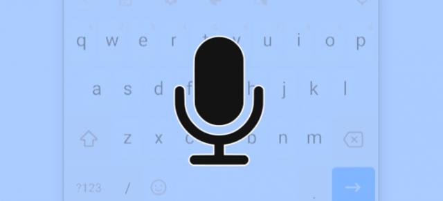 تایپ کردن صدا در گوشی های اندروید