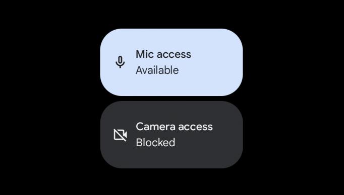 غیرفعال کردن دوربین و میکروفون