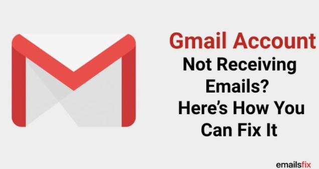 عدم دریافت ایمیل در جیمیل