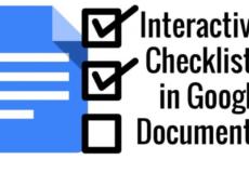 ساخت چک لیست در گوگل داک
